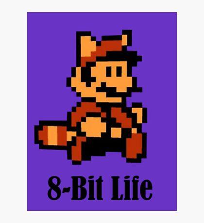 8-Bit Life Photographic Print