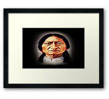 Chief Sitting Bull Framed Print