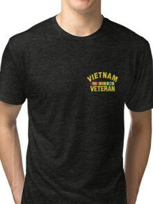 Vietnam Veteran sm Tri-blend T-Shirt