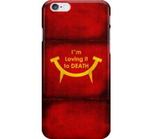 MacViper the zombie and vampire fast food chain, Bloody good food is our motto! iPhone Case/Skin