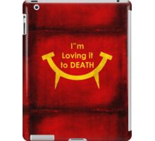 MacViper the zombie and vampire fast food chain, Bloody good food is our motto! iPad Case/Skin