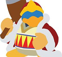 King DeDeDe by GeekBass