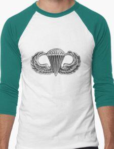 Army Parachute Wings Men's Baseball ¾ T-Shirt