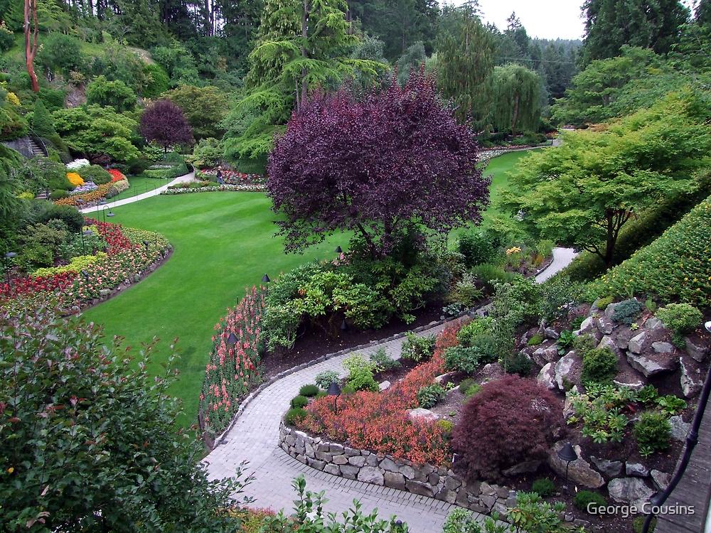 Sunken Garden(5) by George Cousins