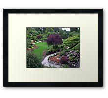 Sunken Garden(5) Framed Print