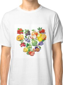 Love Fruits And Berries Classic T-Shirt
