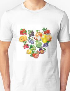 Love Fruits And Berries T-Shirt