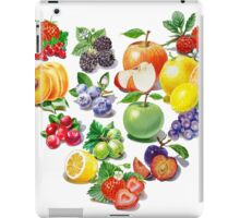 Love Fruits And Berries iPad Case/Skin