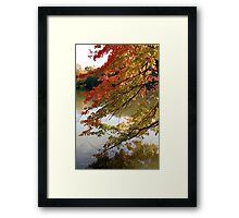 Fall Fashion Framed Print