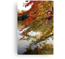 Fall Fashion Canvas Print