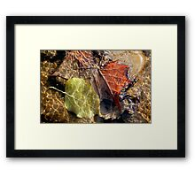 Light Waves Framed Print