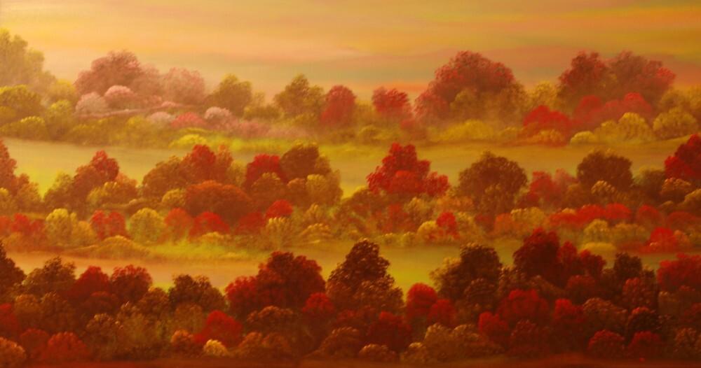 indian summer by David Snider