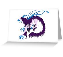 Magic Demon Dog Zaany Greeting Card
