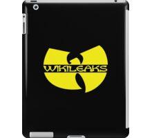 Wikileaks, Julian Assange, MSM, Anon iPad Case/Skin