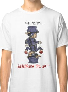 detective bottombee: the victim... or the murderer? (flip edition) Classic T-Shirt