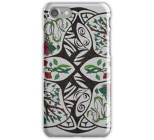 Nature points iPhone Case/Skin