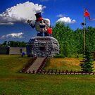 Happy Rock - HDR by Larry Trupp