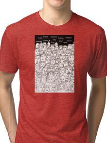 Mass Communication Tri-blend T-Shirt