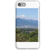 Vancouver Mountains iPhone Case/Skin