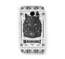 Pride of the Forest Wolf Mononoke Geek Line Artly Samsung Galaxy Case/Skin