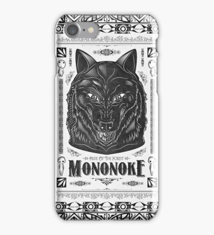 Pride of the Forest Wolf Mononoke Geek Line Artly iPhone Case/Skin