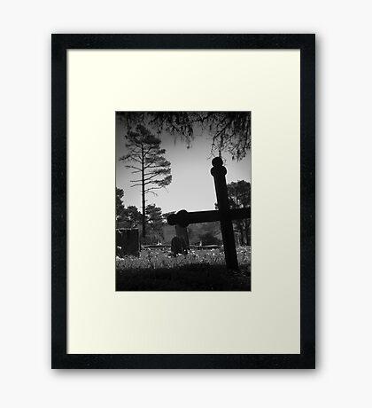 Cambria Yard Framed Print