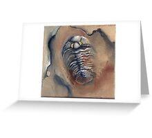 Goldeneye Trilobite Greeting Card