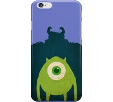Monsters Welcome iPhone Case/Skin