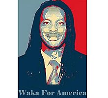 Waka Flocka For President ! Photographic Print