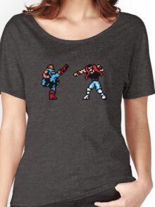 Shatterhand Vs. Kick Master NES Women's Relaxed Fit T-Shirt