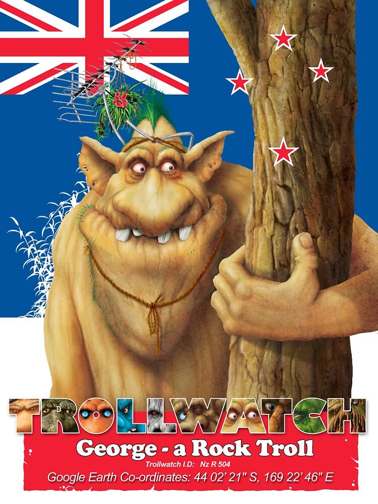 George a rock troll by Danny Willis