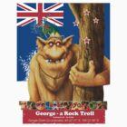 George a rock troll by Danny Willis
