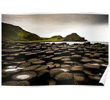 Giant's Causeway, Northern Ireland Poster