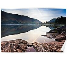 Autumnal Reflections - Thirlmere Poster
