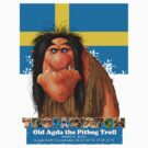 Old Agda the Pitbog Troll form Sweeden by Danny Willis