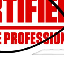 Certified Cable Tie Professional... Sticker