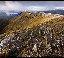 The ridge to Blencathra by Shaun Whiteman