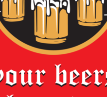 All your beers Sticker