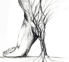 The Rooted Stiletto by Jiezilla