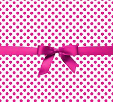 Pink Polkadot Ribbon by albertjunior