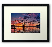 Ten Seconds Before Sunrise Framed Print