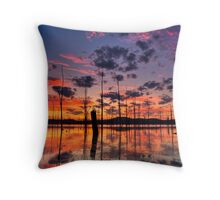 Ten Seconds Before Sunrise Throw Pillow