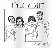 Title Fight Poster