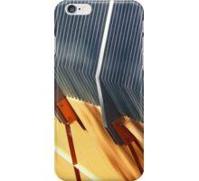 Gray and Orange iPhone Case/Skin