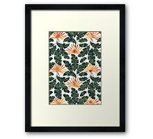 Summer Holidays | Tangerine Framed Print
