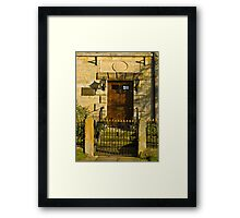 The Doorway 1784 Framed Print