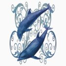 Peace and harmony .. a dolphins tale by LoneAngel