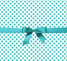 Blue Tiffany Polkadot Ribbon by albertjunior
