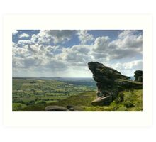 The Roaches:  The Peak District Art Print