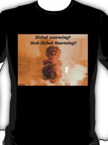 Global warming? Wot global warming? T-Shirt